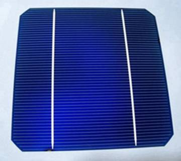 High quality 6x6 inch mono solar cell with 2 busbar