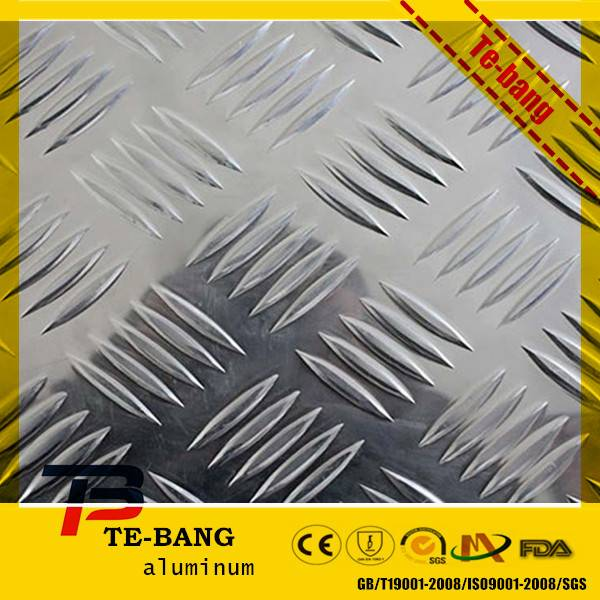 Embossed or checkered aluminum sheet/coil