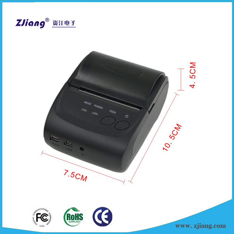 58mm Mobile thermal portable bluetooth printer