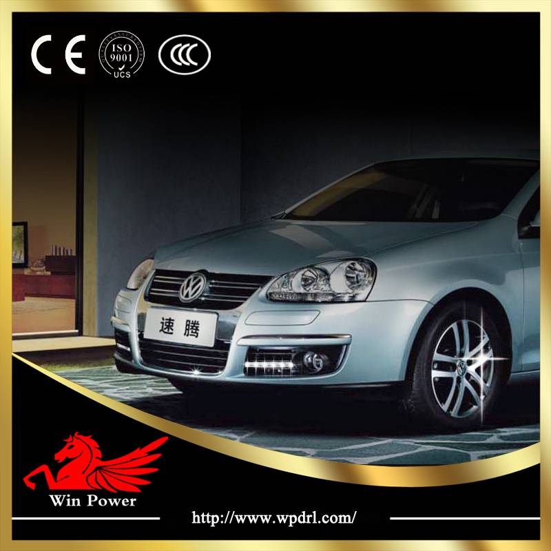 2012 Newest high quality Volkswagen VW Jetta/Sagiter led day running lamps DRL with CE E-Mark