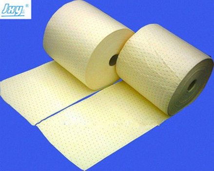 Dimpled and Perforated Chemical Absorbent Roll