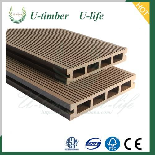 Cheap and High Quality WPC Decking From China