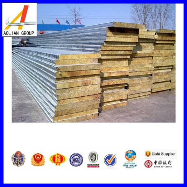 NEW and HOT rock wool sandwich panel/sheet