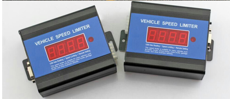 Electrical Throttle Speed Limits for Heavy Goods Vehicles, vehicle electronic speed limiter
