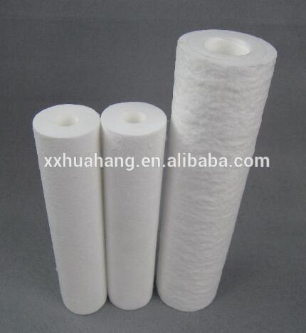 China manufacture 20 micron PP melt-blown water filter cartridge