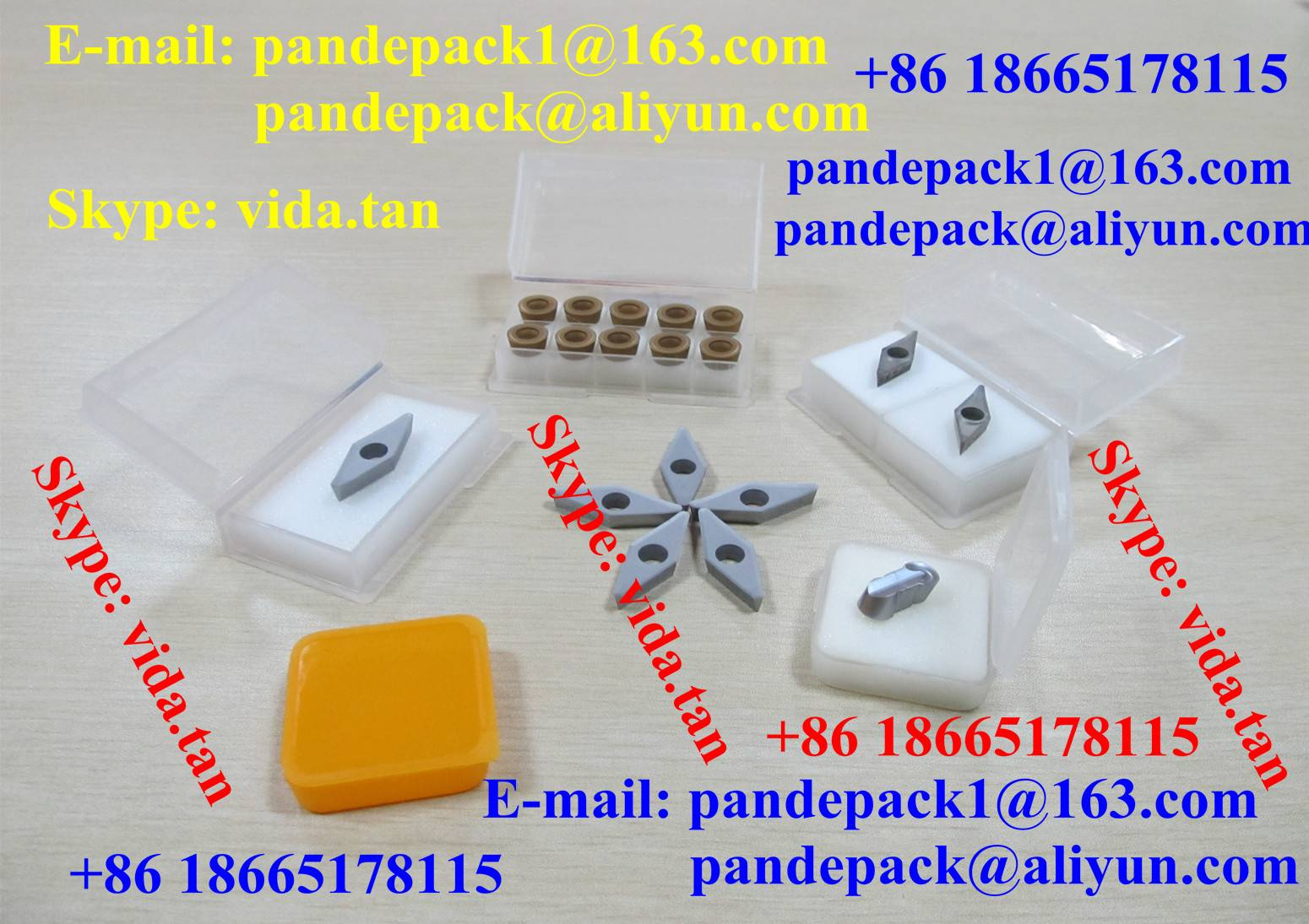 Sell Diamond Blade Plastic Box/Package/Cutting Tool Box/Package/Pack/Insert Pack/Box/Package/Packing