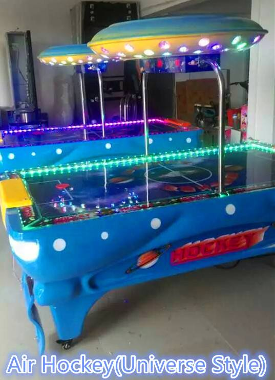 Coin Operated Air Hockey Game Machine/Dolphin air hockey game table machine