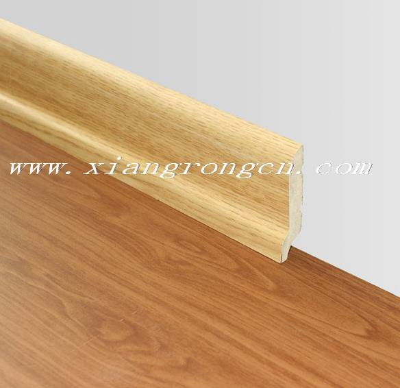 wall skirting used for laminate flooring/floor
