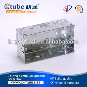 8 Way Square Concealed Modular Box