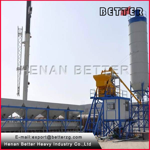 compact concrete batching plant, small concrete plant for sale