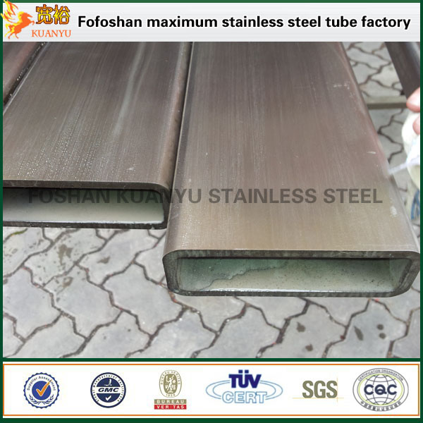 factory price stainless steel rectangular tubing