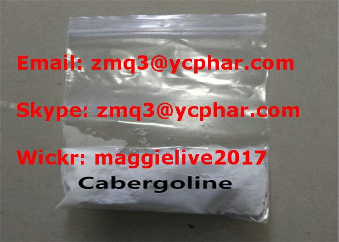 Cabergoline Dostinex for Parkinson Treatment Less Side Effects Powder