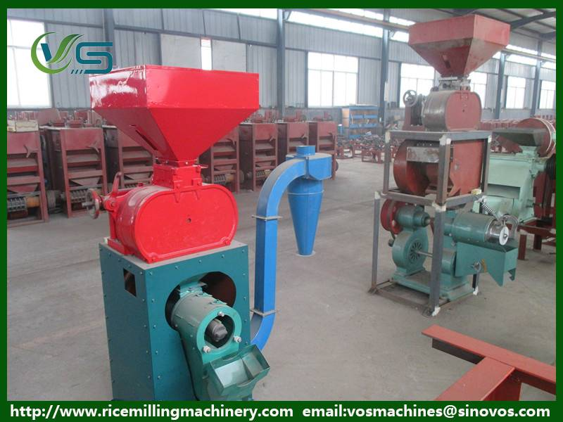 Widely used rice mill machine, rice processing machinery, rice husker machine