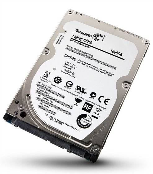 Seagate Laptop SSHD 1TB Solid State Hybrid Drive Disk Internal HDD
