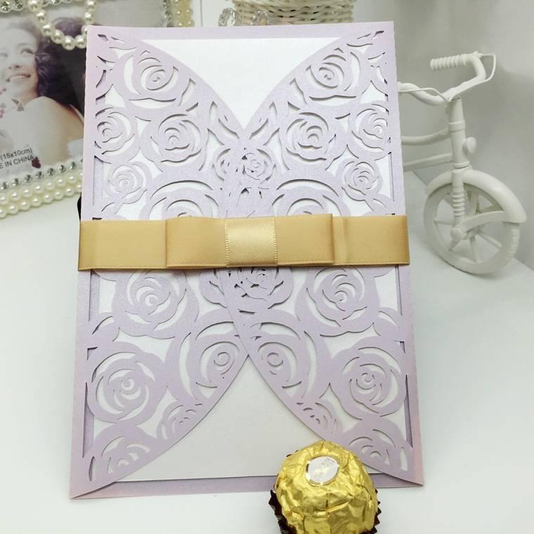 custom wedding invitation cards