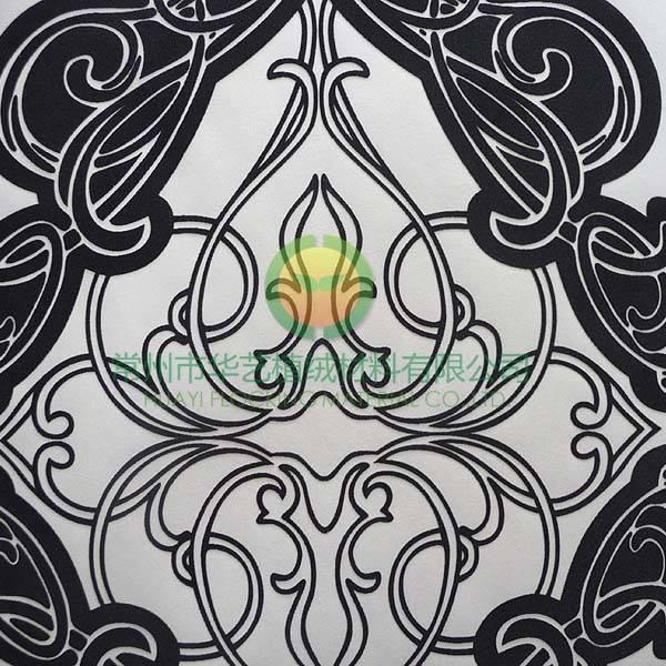 Huayi Flocked wallpaper Rafi Art HYRA8111