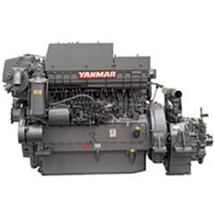 New Yanmar 6HA2M-WHT Marine Diesel Engine 278HP