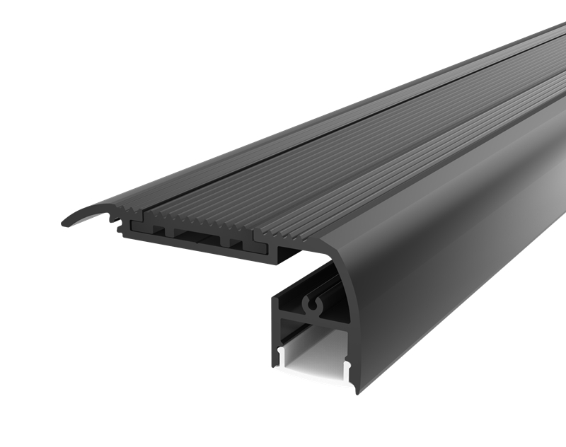 Aluminium Extrusions Profile Channel for Stairs/Cinema Step Lighting Decoration