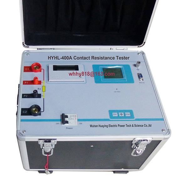 Contact Resistance Meter 400A - Wuhan Huaying Electric Power