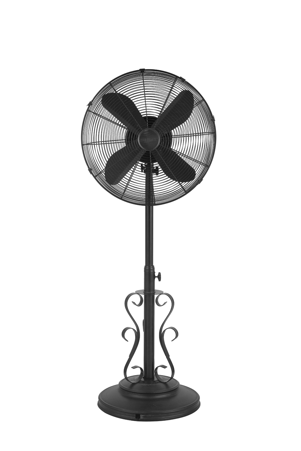 Outdoor Standing Fan, Decorative Outdoor Standing Pedestal Floor Fans