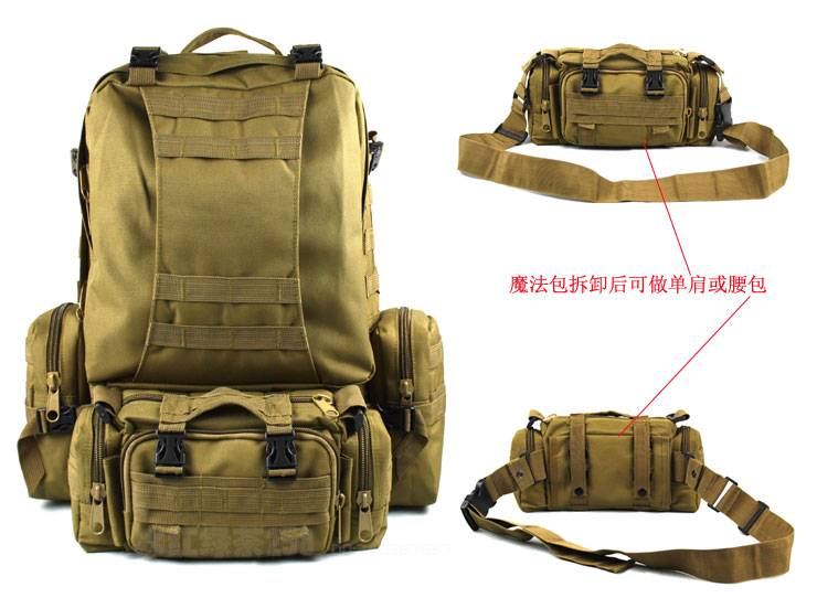 CamelPack Tactical Molle Assault Backpack TAN