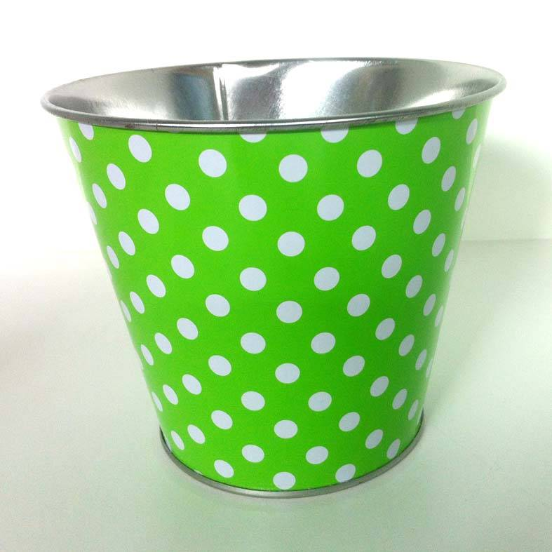 Small Tin Pail, Tin Bucket