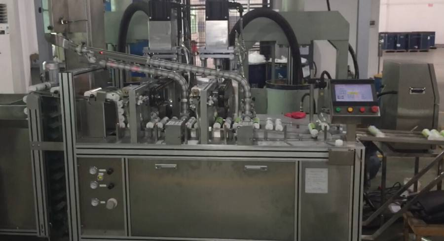 Full Automatic Cartridge Type Filling Machine with Double Filling Heads