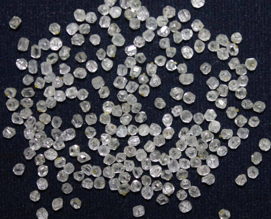 man made white HPHT diamond round