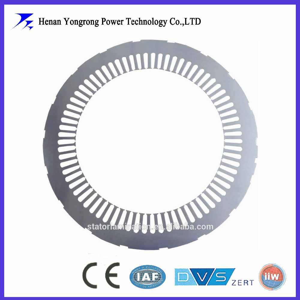 Silicon steel stator lamitation for high voltage motor