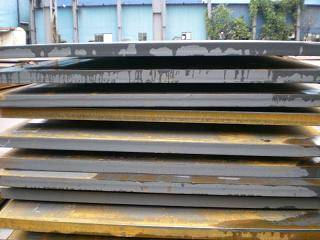 Building structural steel plate