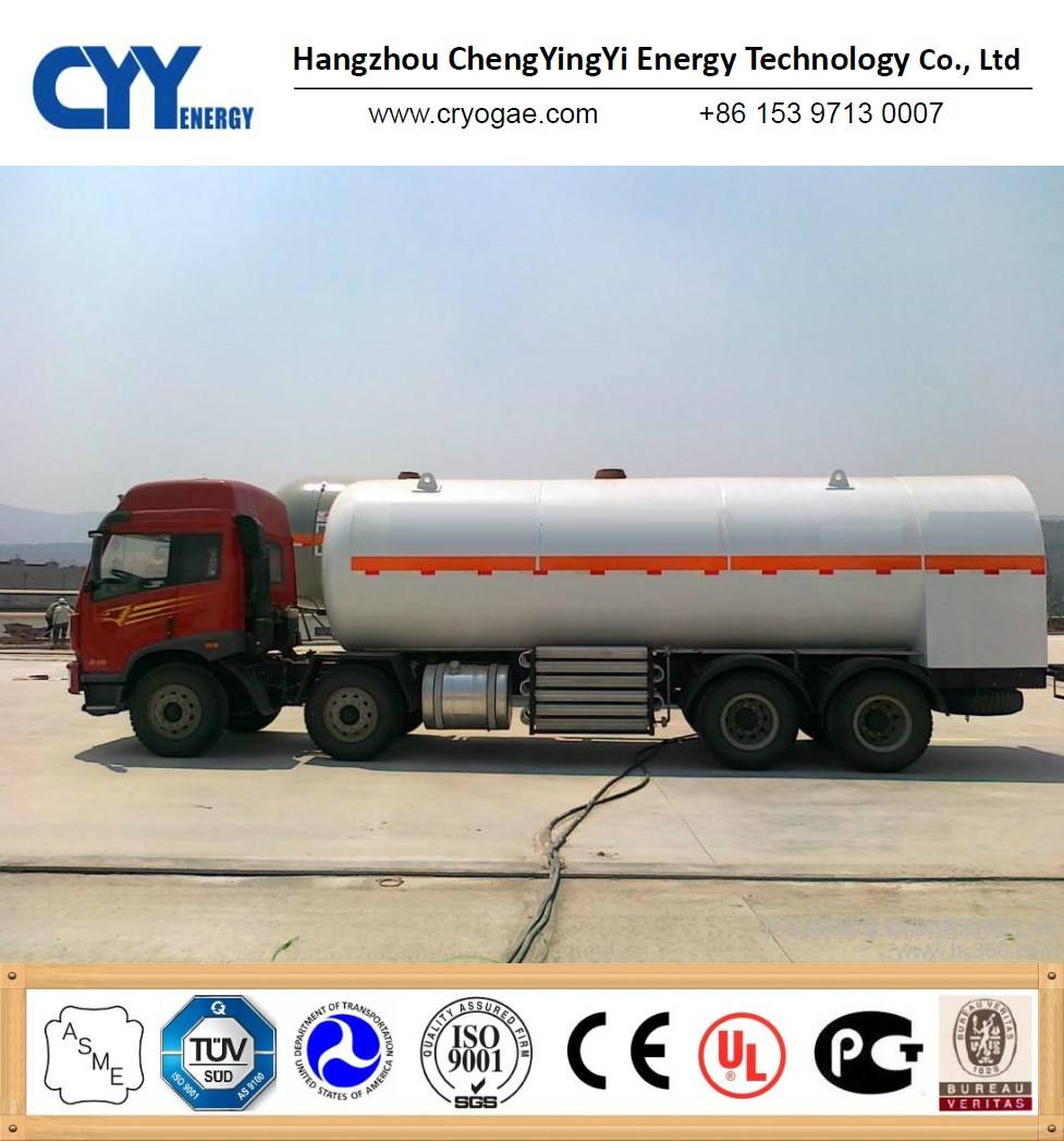 Cryogenic Liquid Semi-Trailer