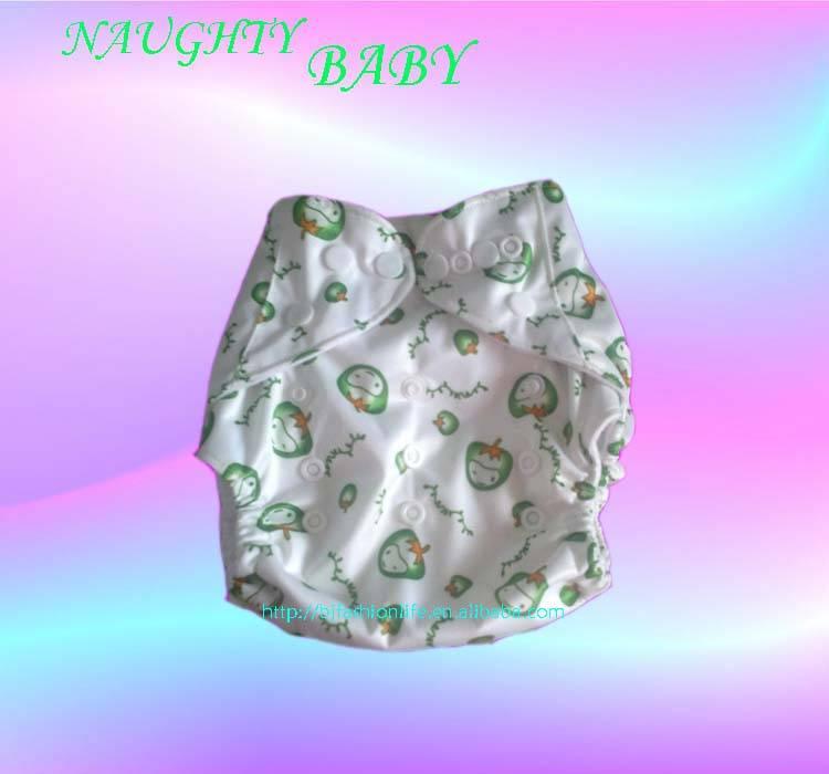 Reusable cloth baby diaper