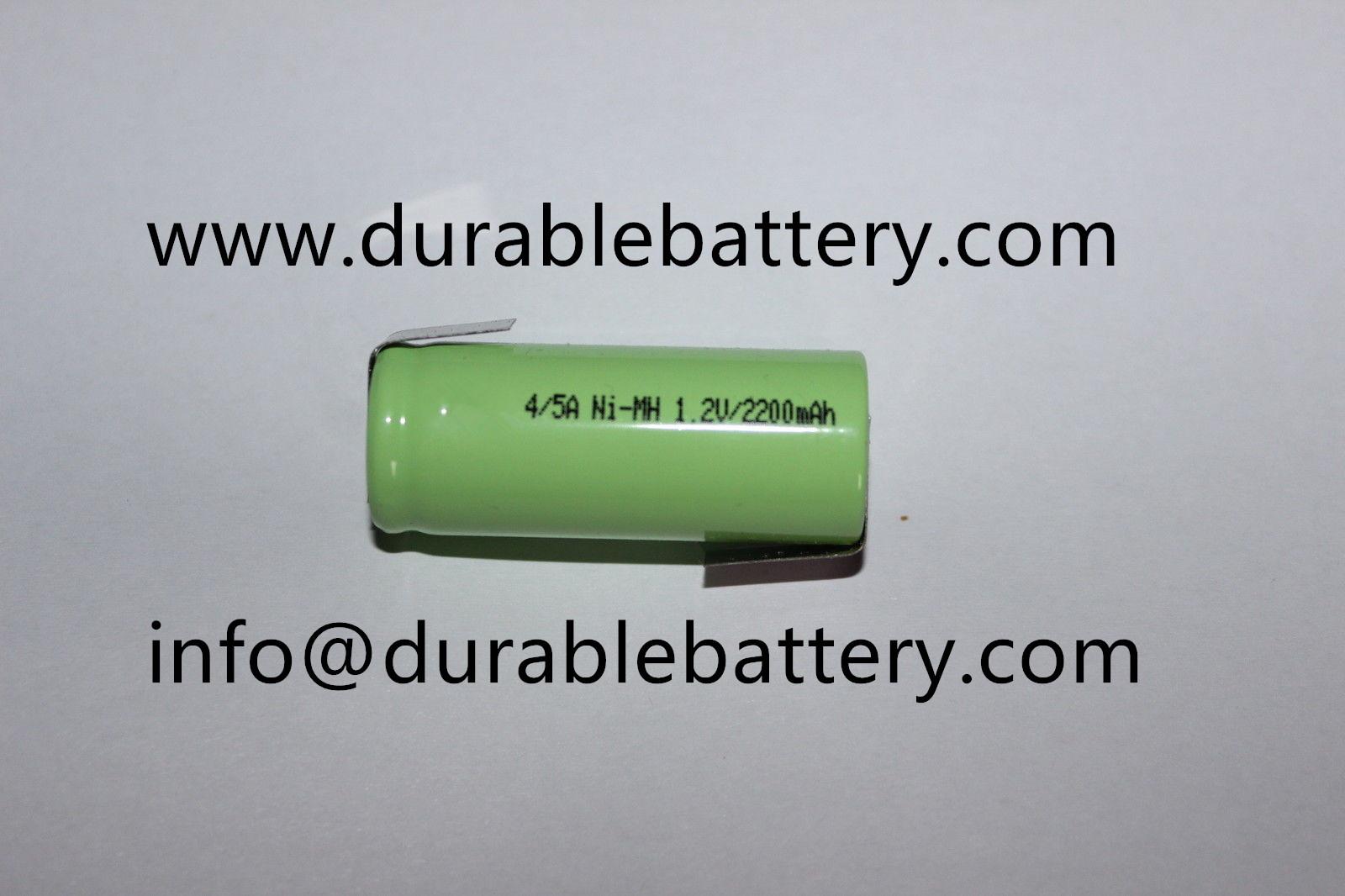 4/5A NiMH rechargable battery 1.2V 1800mah 2000mAh NiMH Battery for GPS, RC toys