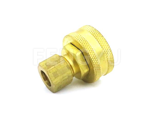 Brass compression x swivel adapter F300X