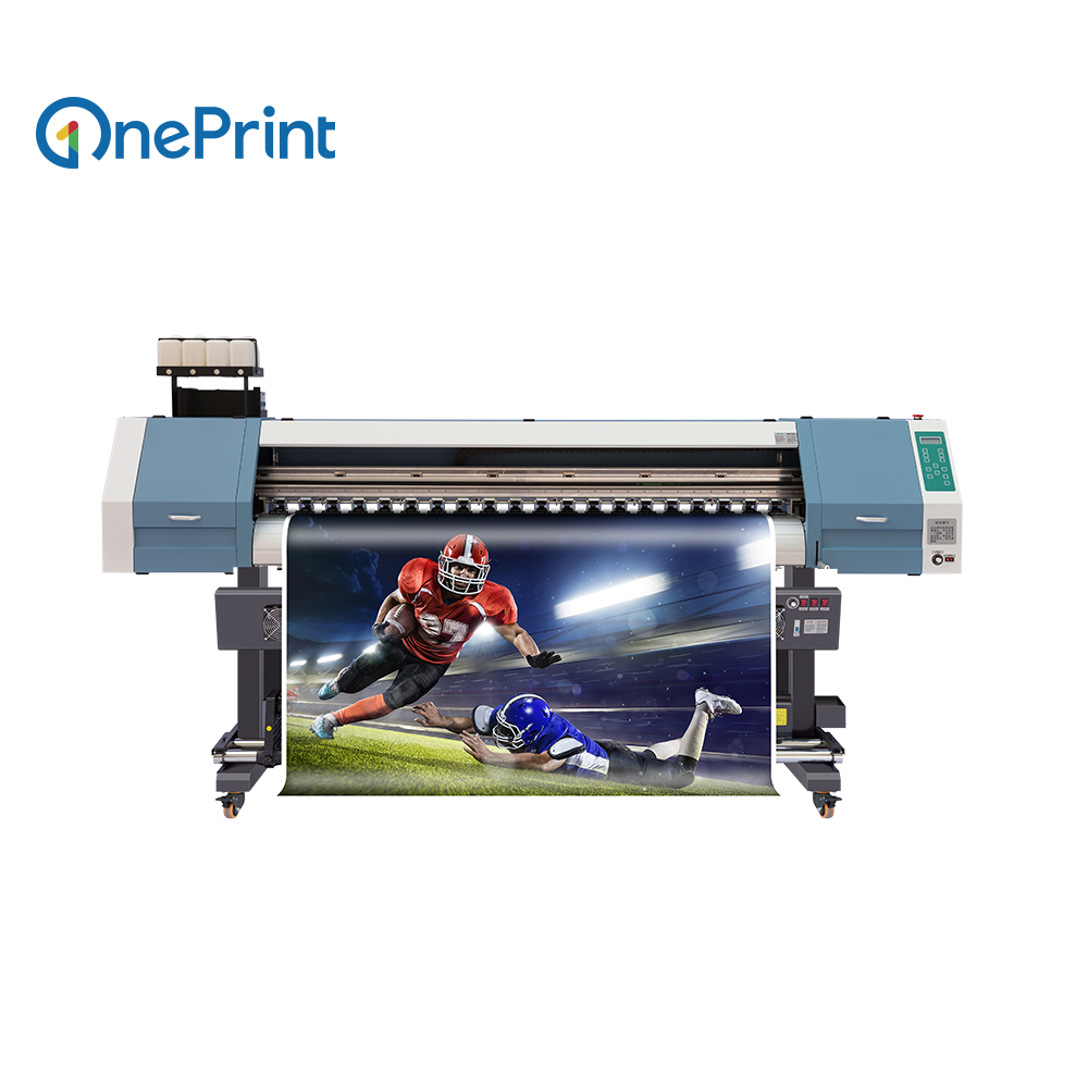 1.8m Large Format Eco Solvent Printer For Outdoor&Indoor Advertising
