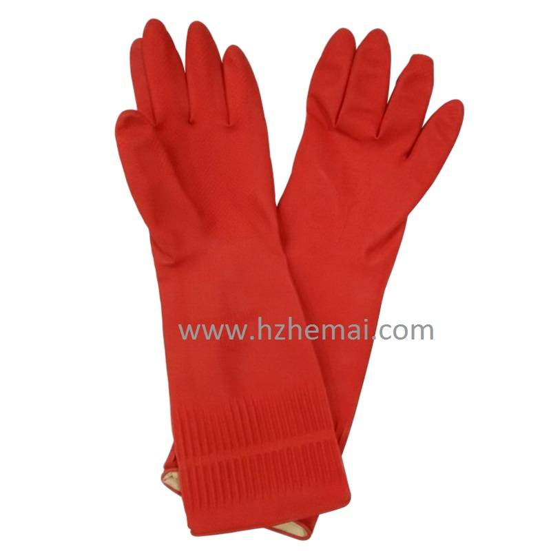 latex cleanning gloves
