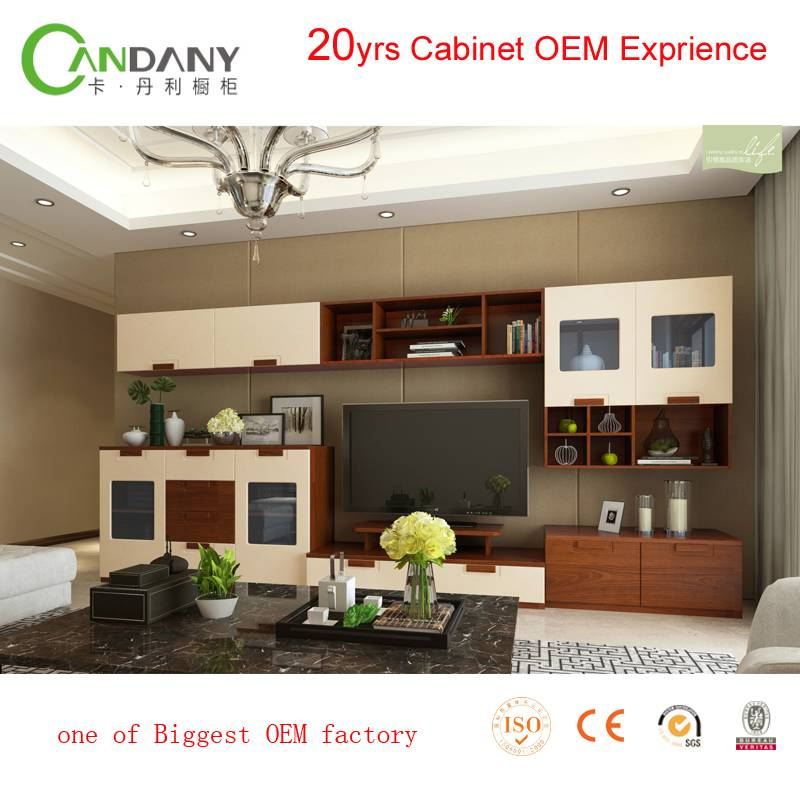 20 Yrs in OEM/ODM Living Room TV Cabinet With Showcase Hot Sale Products