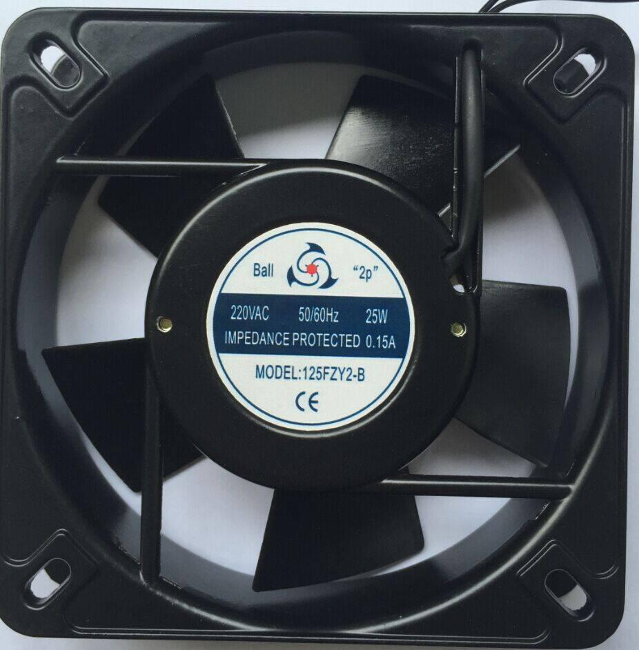 AC-axial blower fan