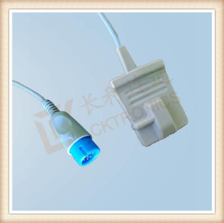 BIOLIGHT 12Pin , Adult Silicone Soft Tip SpO2 Sensor