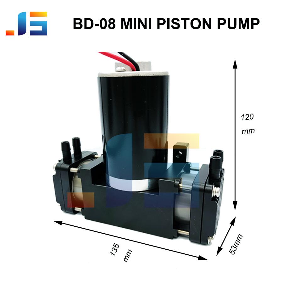 dual head high flow vdc small piston pump