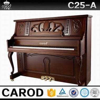teak polish vertical piano