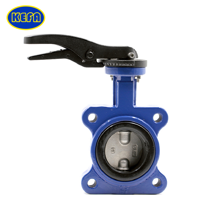 Lug Type Pinless Non-backed Seat Butterfly Valve