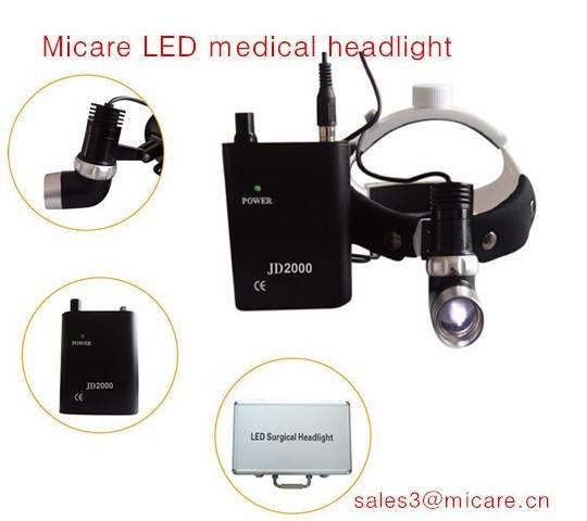 Dental Surgery Micare JD2000II Medical Headlight LED