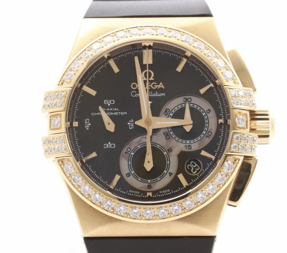 Used brand Luxury OMEGA Constellation Double Eagle Wrist Watches for bulk sale.