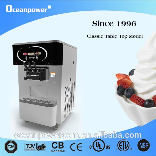 [Direct Sale]OP130 Table Top Soft Ice Cream Machine Frozen Yogurt Macine.No OceanPower No Ice Cream