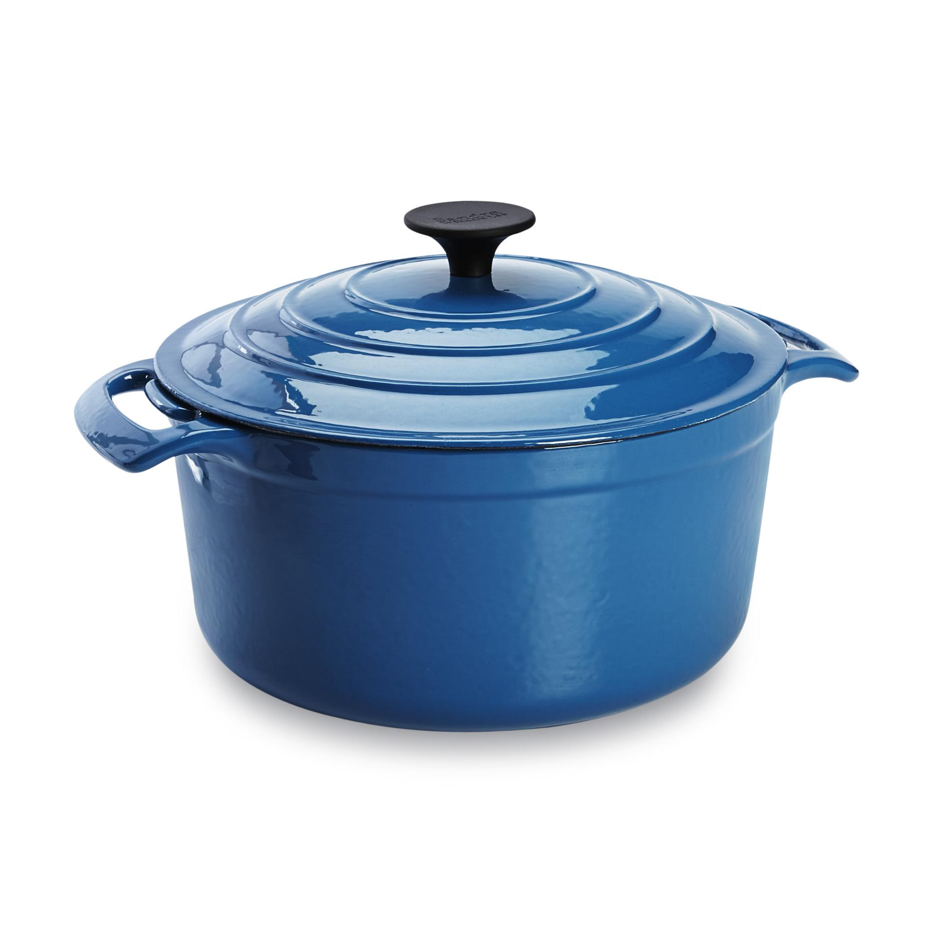 Energy Saving Easy Clean Mini Cast Iron Casserole