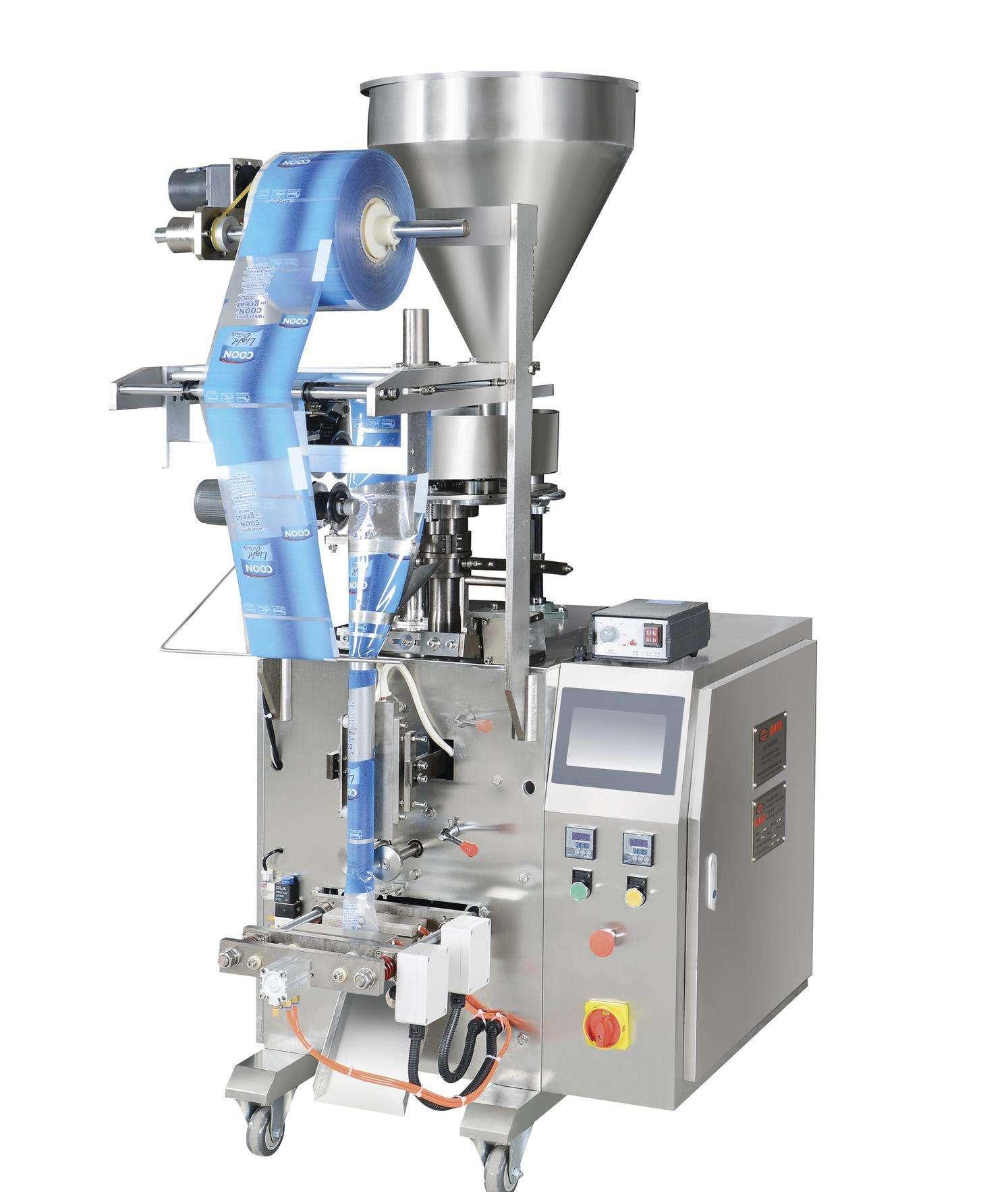 Small automatic liquid bag filling machine