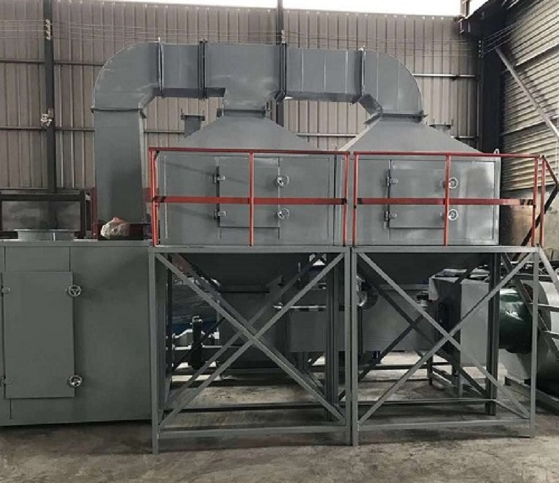 Catalytic combustion equipment