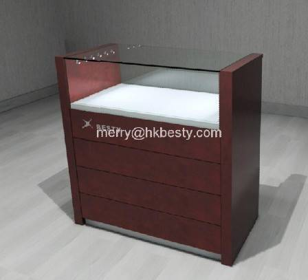 jewelry display cabinet and counter