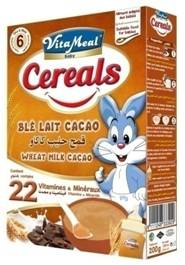 VITAMEAL BABY - Cereals - Wheat Milk & Cocoa